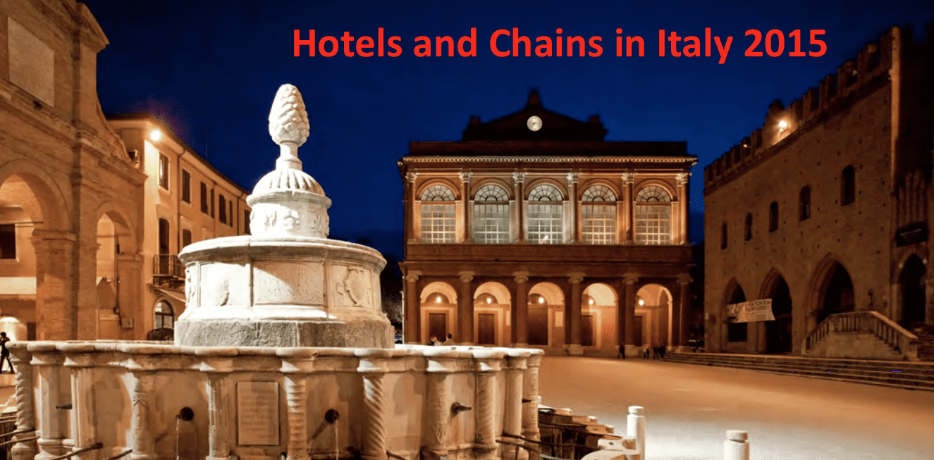 Hotels & Chains in Italy 2015