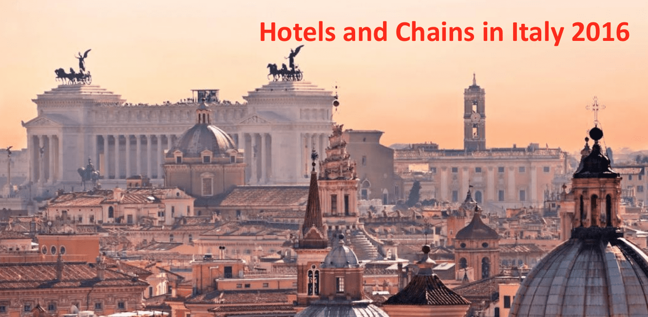 Hotels & Chains in Italy 2016